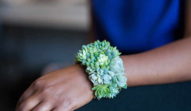 living plant bracelet PassionFlower Susan McLeary