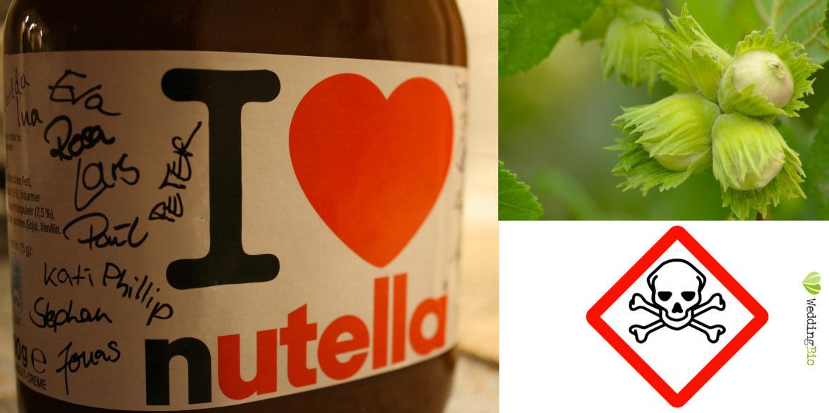 pesticida paraquat trovato nelle nocciole per produrre la nutella