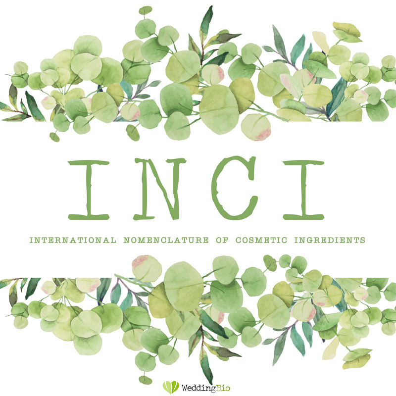 sigla INCI international nomenclature of cosmetics ingredients